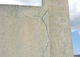 1.7 Μερική ή ολική αποσάθρωση σοβά εξωτερικού τοίχου μέχρι βάθους σοβά βασικής στρώσης - Κεντρική Εικόνα