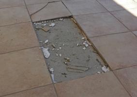 3.2 Αποκολλημένα - ρηγματωμένα - κατεστραμμένα πλακίδια - Κεντρική Εικόνα