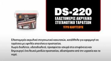 DS-220 για στεγανώσεις με απαιτήσεις - Κεντρική Εικόνα